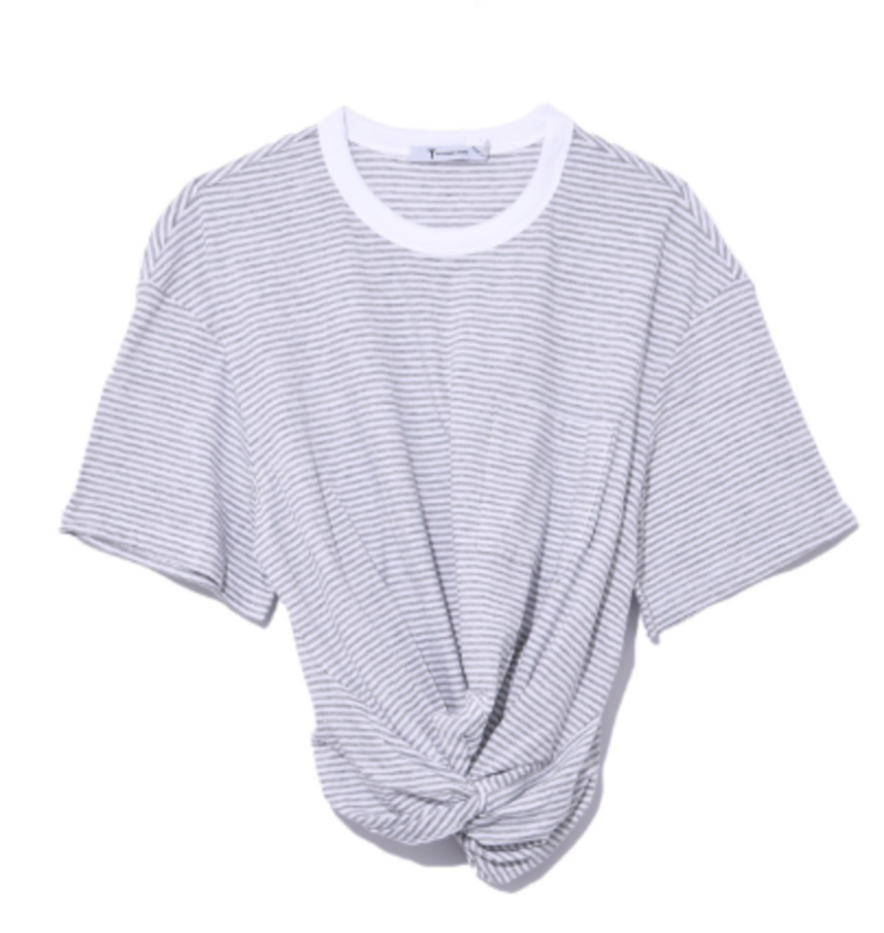 T by Alexander Wang Tee with a twist Tops