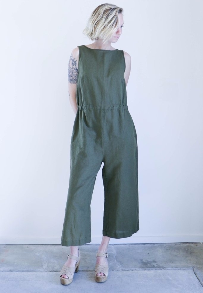 Esby Allison Cropped Jumper Jumpsuits / Rompers