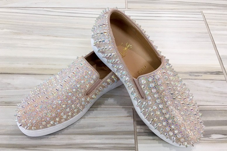 Christian Louboutin Studded Sneaks Shoes