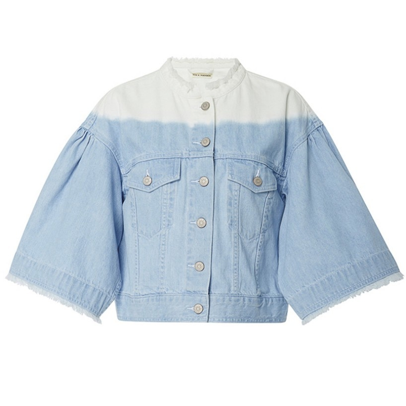 Ulla Johnson Denim Ombre Outerwear