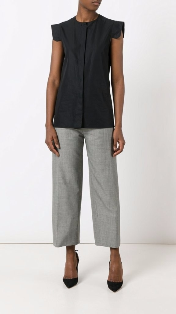 Jacquemus Santon High Waisted Pants Pants Sale