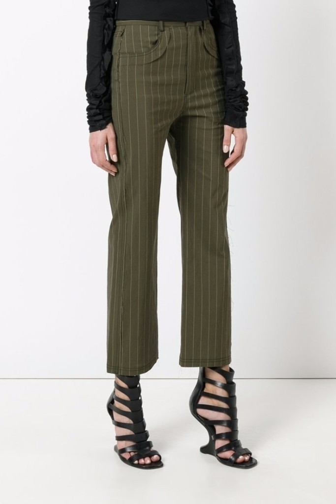 Damir Doma Posy Pinstriped Pants - SOLD OUT Pants Sale