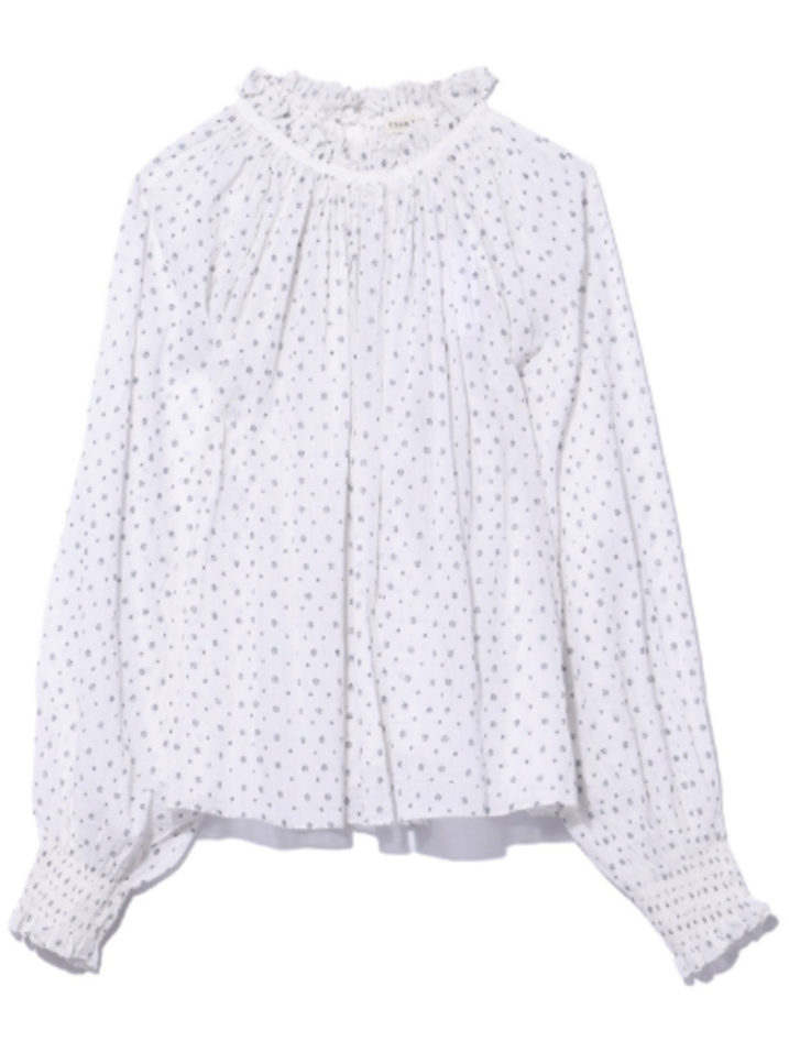 Ulla Johnson Mireille Blouse in Porcelain Tops