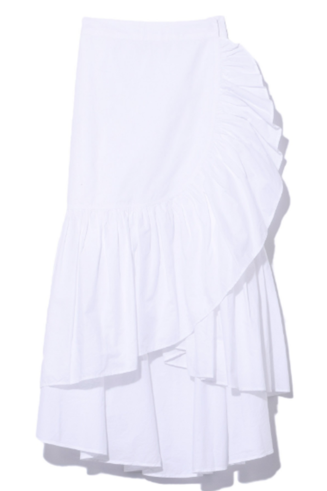 Ulla Johnson Camila Skirt in White Skirts