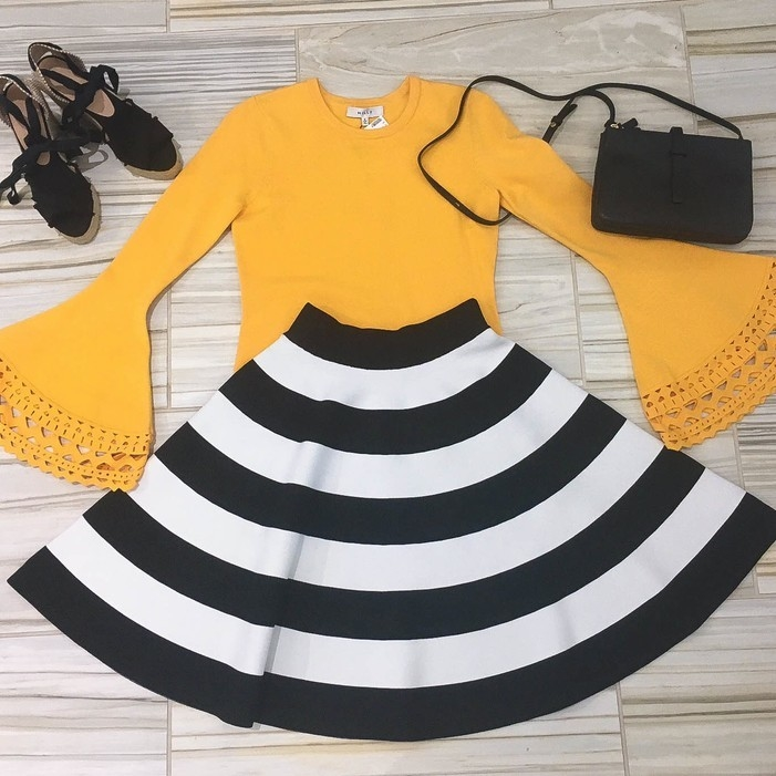 Milly Color POP Shoes Skirts Tops