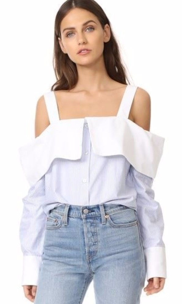 Clu Off the shoulder blouse Tops