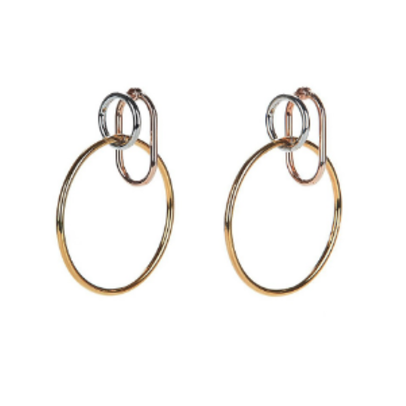 Alexander Wang Triple Ring Earring Jewelry