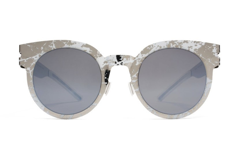 MYKITA Silver Python Sunglasses Accessories