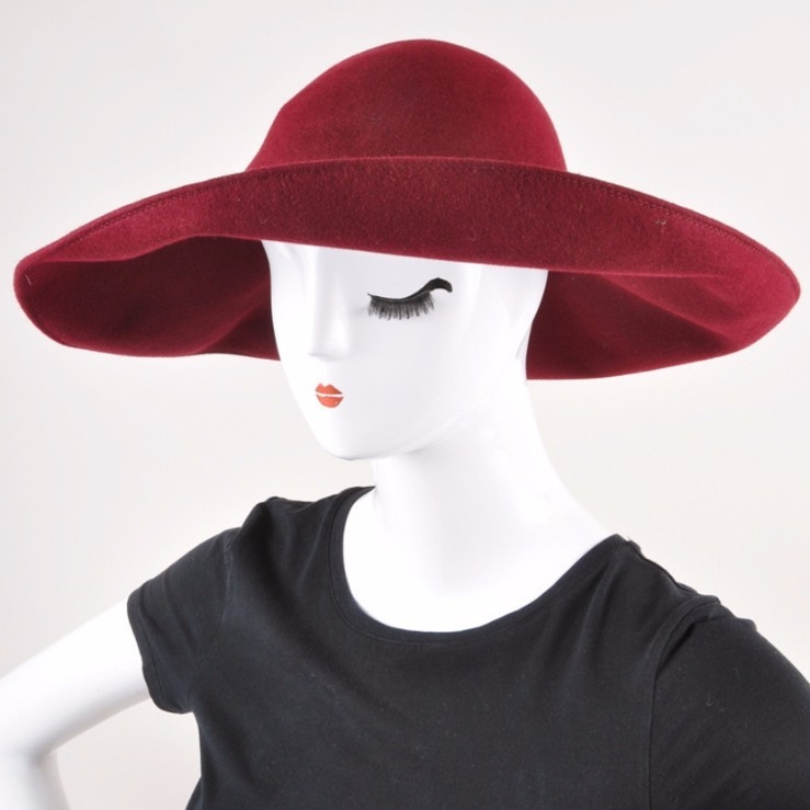 Patricia Underwood Felted Floppy Hat
