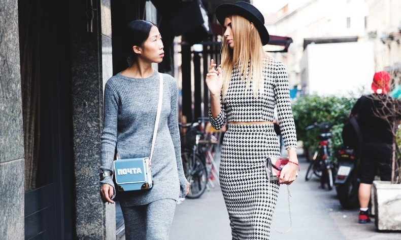 Matchy-matchy outfits—maximum style with minimal effort.