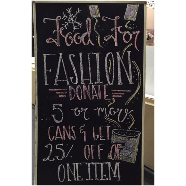 Food for Fashion Ending Soon!