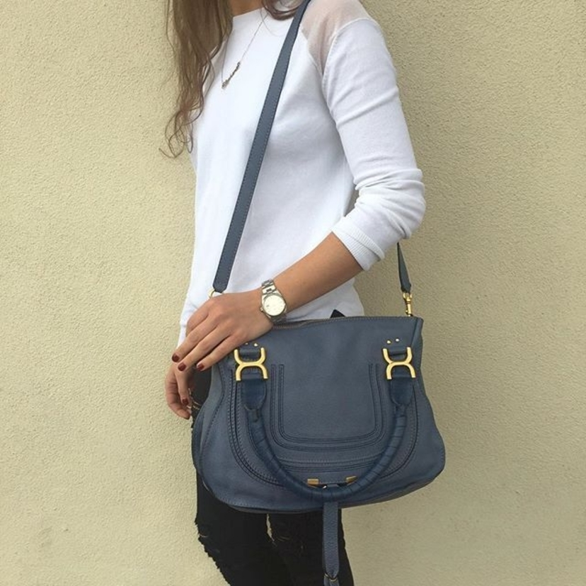 chloe replica - House Account / Luxury Garage Sale - Chloe Marcie Handbag in ...