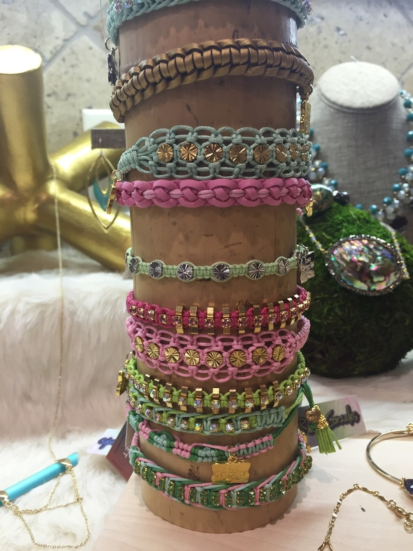 Stack Pink and Green