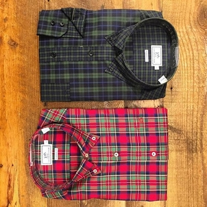 Southern Tide Holiday plaids are here! Tops