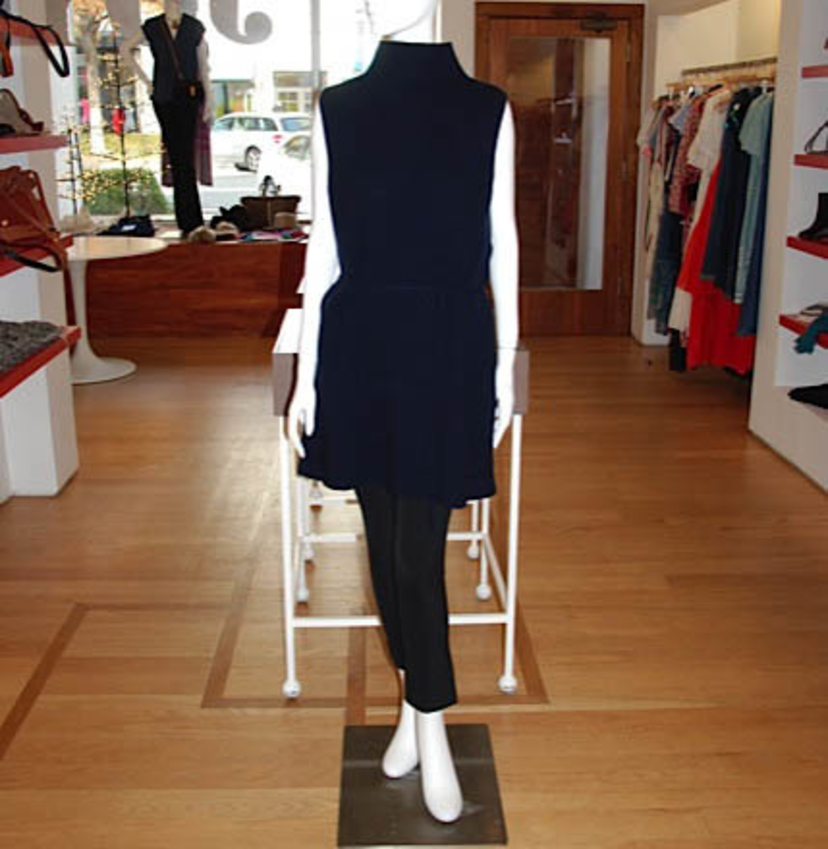 The Row Navy Tunic