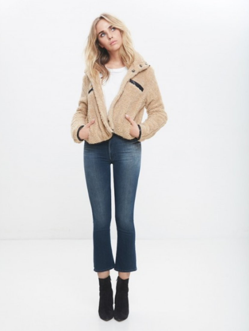 Mother The Insider Crop Jean