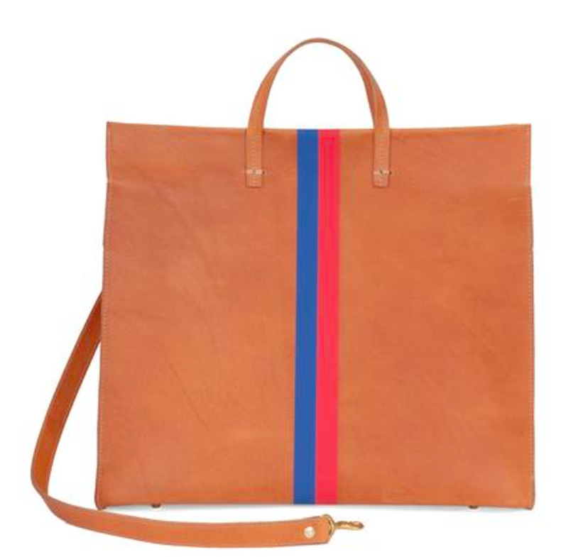 Clare V. Simple Striped Bags