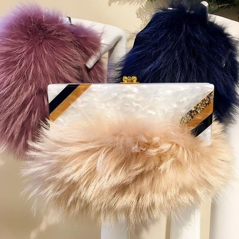 Who says fashion has to suffer for warmth? Not these @mrmrsitaly fur hats!