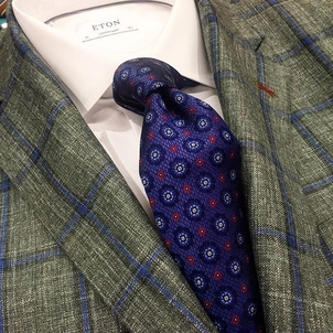 Eton Robert Talbott Samuelsohn New year. New sport coats. Accessories