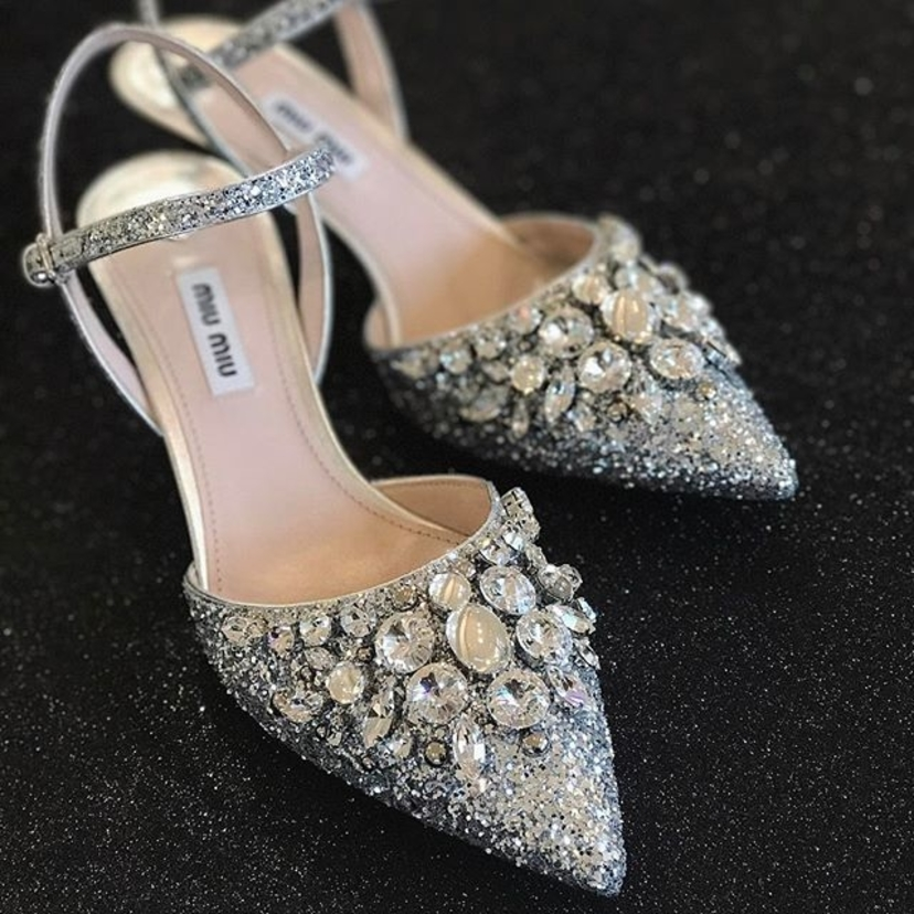 Miu Miu Twinkling Toes Shoes