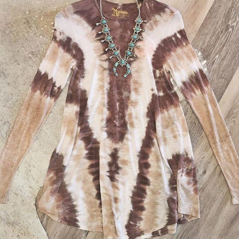 Keep it groovy in the Tyler Tunic Dress -- 20% off!