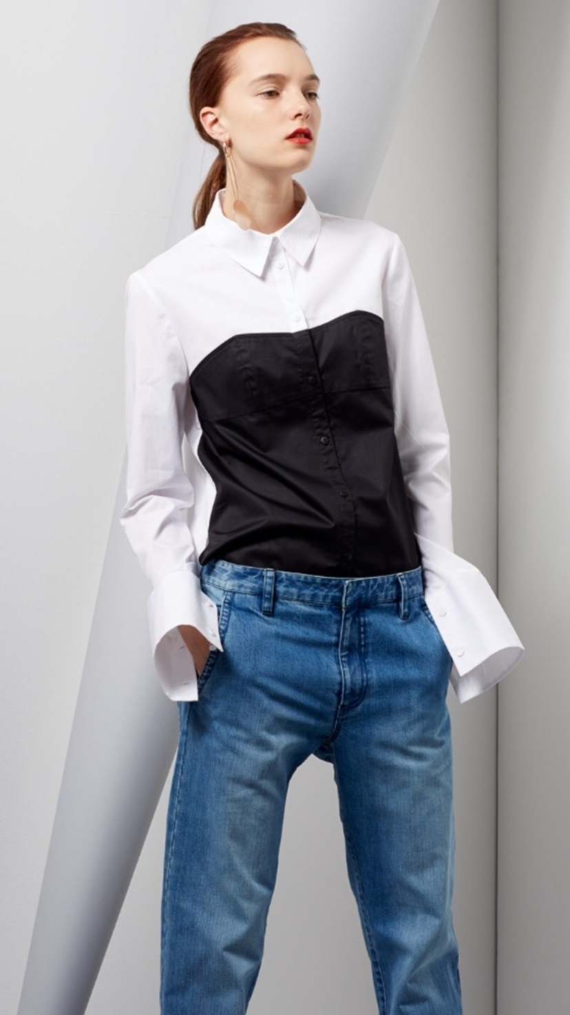 Tibi How to pull off cool and ladylike at the same time Tops