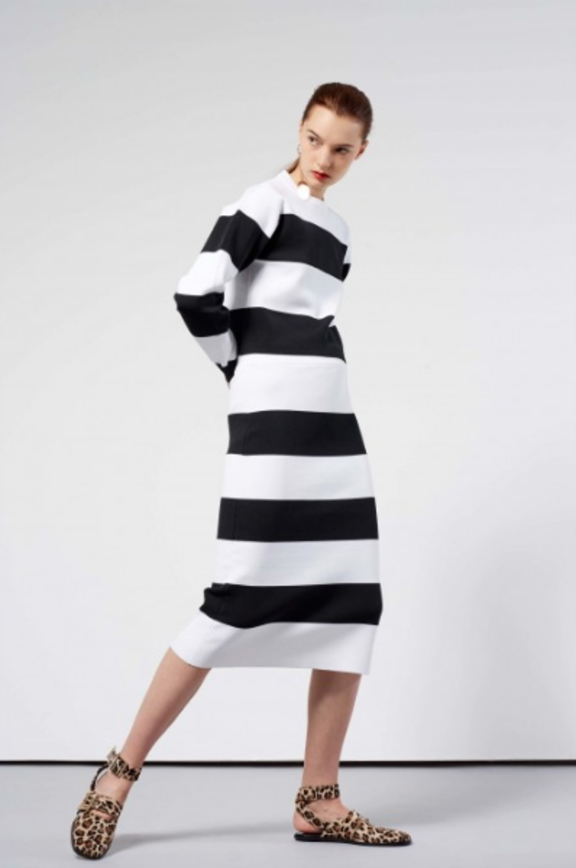 Tibi Lady in stripes Skirts Tops