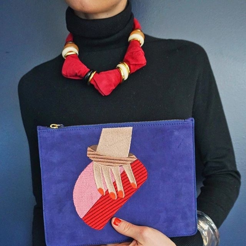 Lizzie Fortunato Pop Art Bags Jewelry