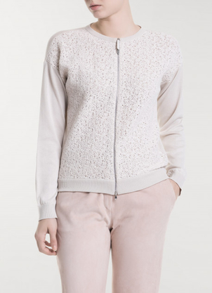 Fabiana Filippi Cotton Cardigan Tops