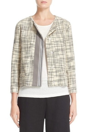 Fabiana Filippi Tweed Jacket Outerwear