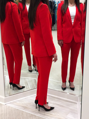 Christian Louboutin Only Hearts Stella McCartney Red Hot Outerwear Pants Shoes