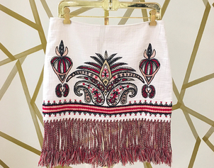 Rachel Zoe Fringed Fancy Skirts