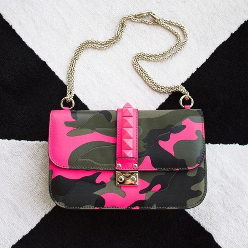Valentino Camoflagued Bags