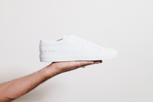 Common Projects PERFORATED WHITE Men's