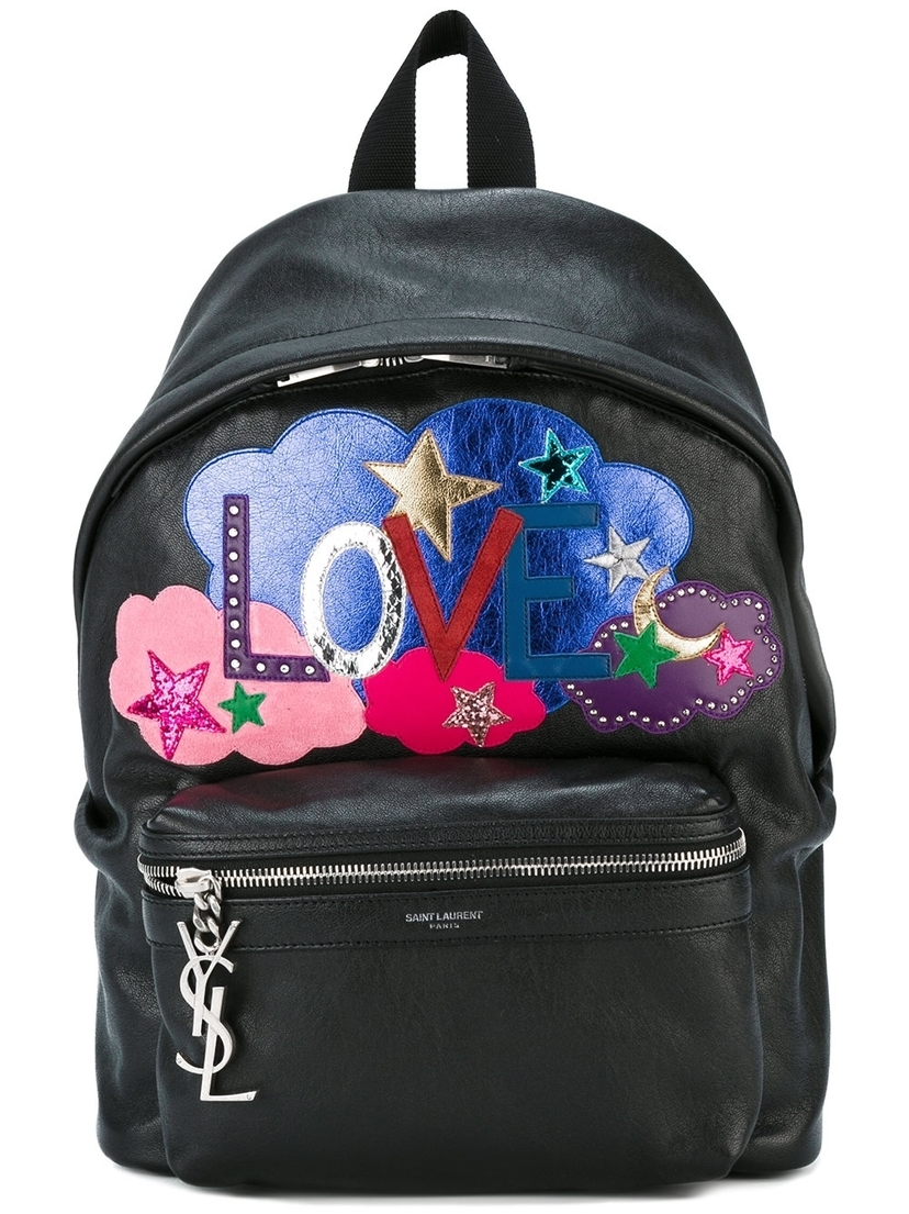 Love Print Backpack