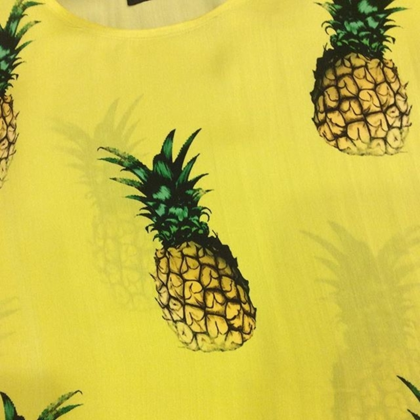 Cashmere Victim Pineapple Perfection Tops