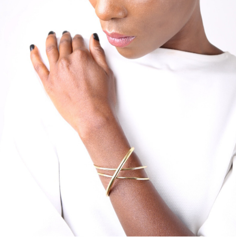 Soko Double Cross Cuff Jewelry