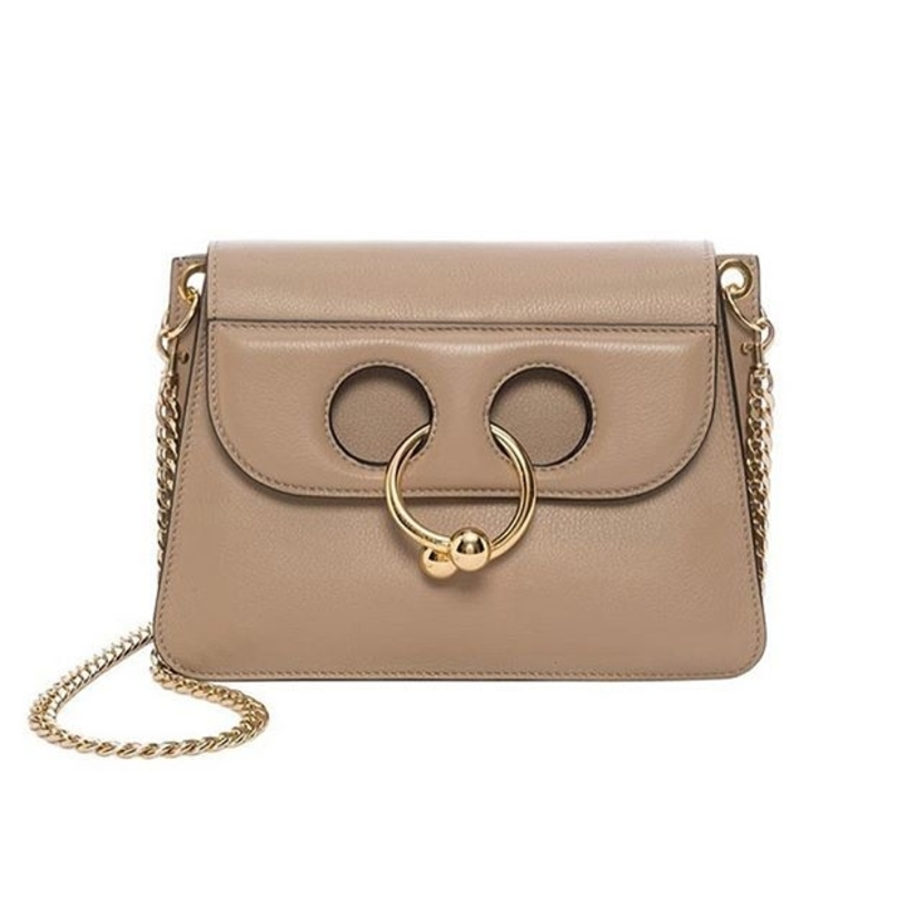 JW Anderson Mini Pierce Bag in Ash Bags