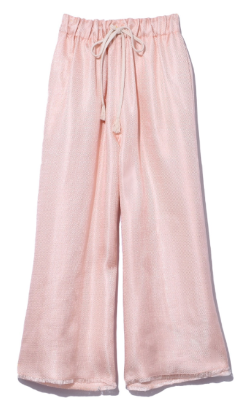 Shining Structure Culottes in Cipria