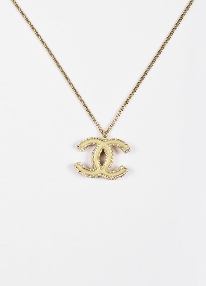 Chanel Logo Necklace Jewelry