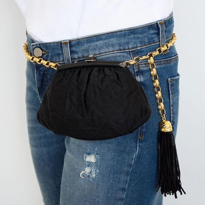 Chanel Chanel Satin Tassel Belt Bag Bags