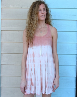 Rust Tie Dye Dress SOLD OUT