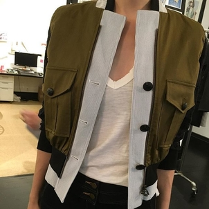 we're (seer) suckers for this army+eyelet bomber