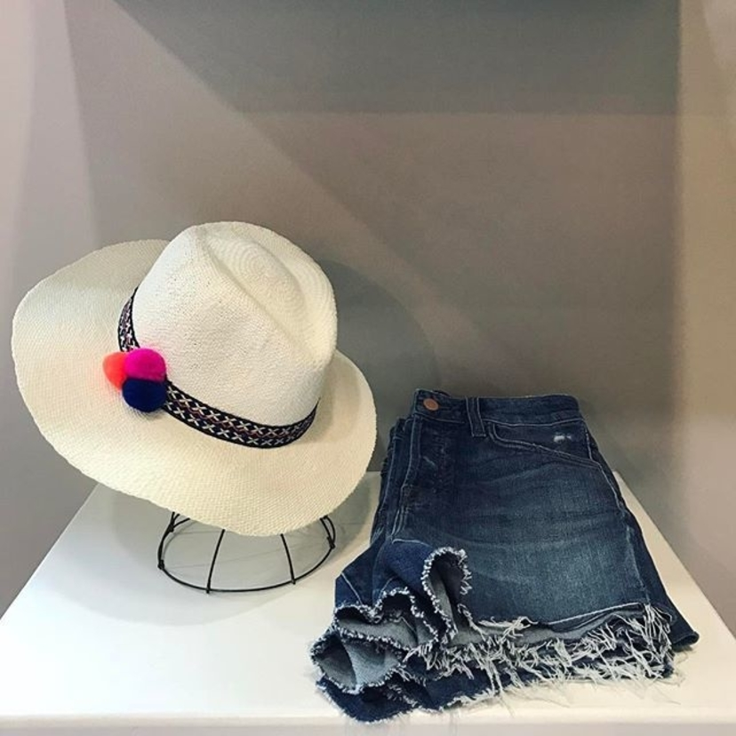 Hat Attack J Brand Here's to warmer days ahead Accessories Shorts