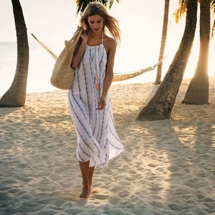 Heidi Klein Folly Island Tassel Maxi Dress Dresses
