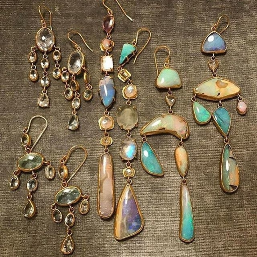 Pastel opals and the most gemmy colored stones... we can't wait for it to be next week!