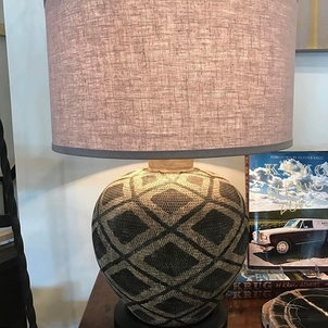 It's #EarthDay today! Let's all work together to keep our planet in good shape, everyone. Let's also celebrate with a few earthy pieces... We love the natural basket texture of these lamps.
