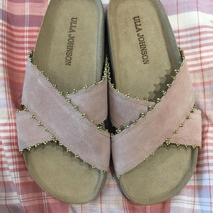 Ulla Johnson Babette Handloom Slide Shoes