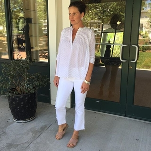 Gabrielle Jewelry The Great Ulla Johnson Perfect spring outfit Jewelry Pants Shoes Tops