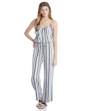 Fifteen Twenty Striped Jumpsuit Jumpsuits / Rompers